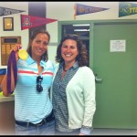 Invited Olympic Gold Medalist to small group counseling session on GOALS & Resilience