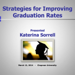 Literature Review – Research paper: High School Retention Rate – Powerpoint Inservice