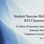 Increasing Student Success Skills – CLASSROOM GUIDANCE LESSONS